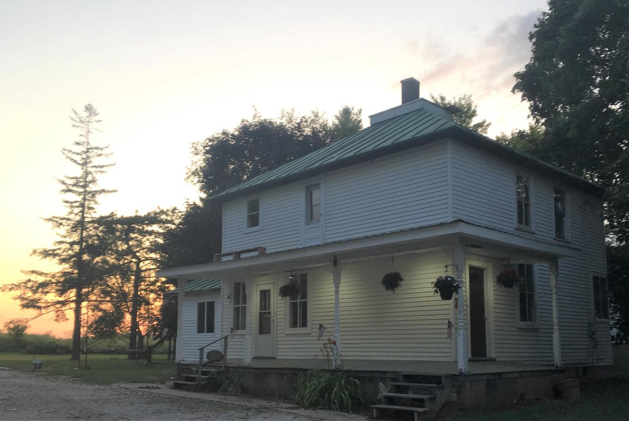 View Single-Family Home For Sale at 8278 Cty Rd W, Greenleaf, WI