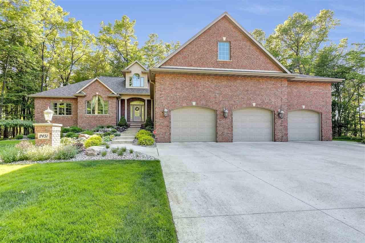 View Single-Family Home For Sale at 2451 LOXLEY COURT, Suamico, WI