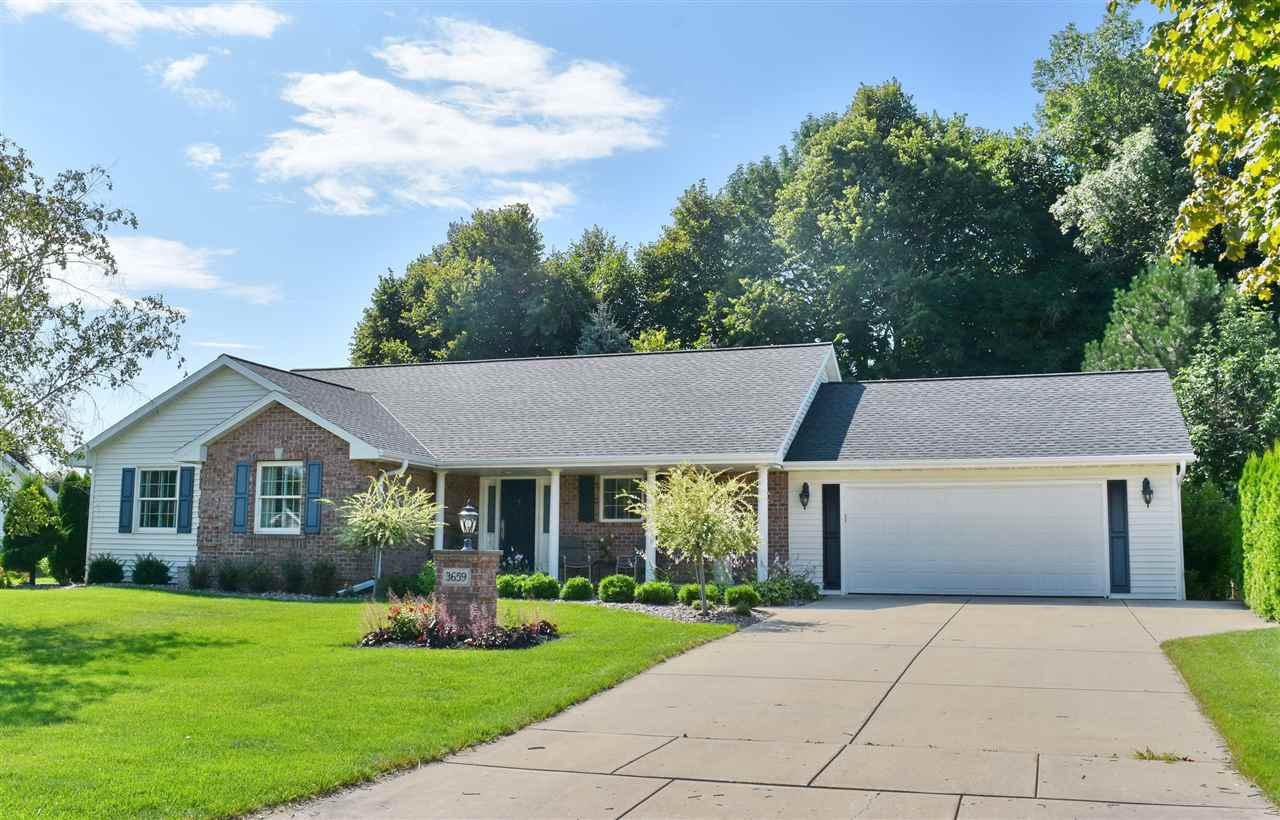 View Single-Family Home For Sale at 3659 COPPER OAK CIRCLE, Green Bay, WI