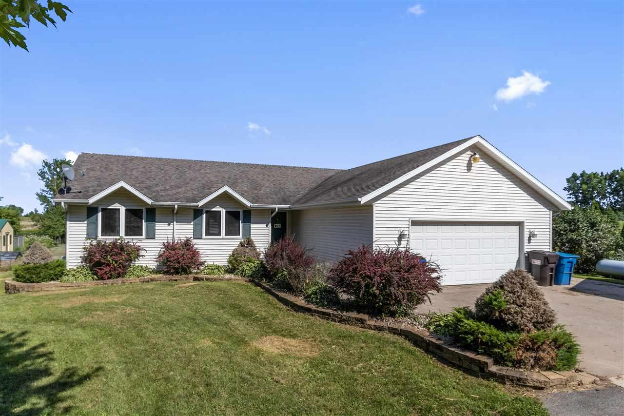 View Single-Family Home For Sale at N4846 MAYFLOWER ROAD, Black Creek, WI