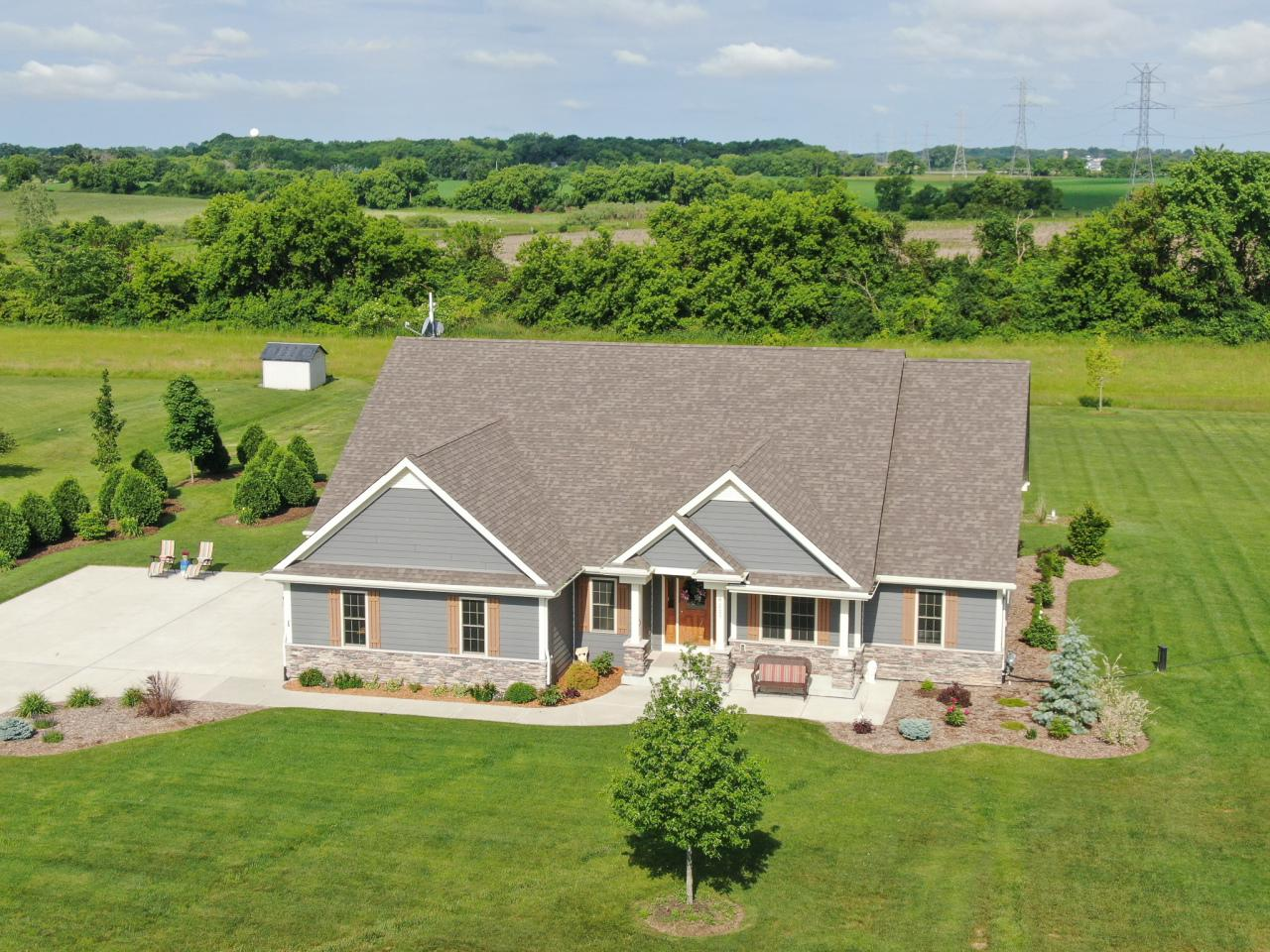 View Single-Family Home For Sale at 8227 Stone Creek Way, Caledonia, WI