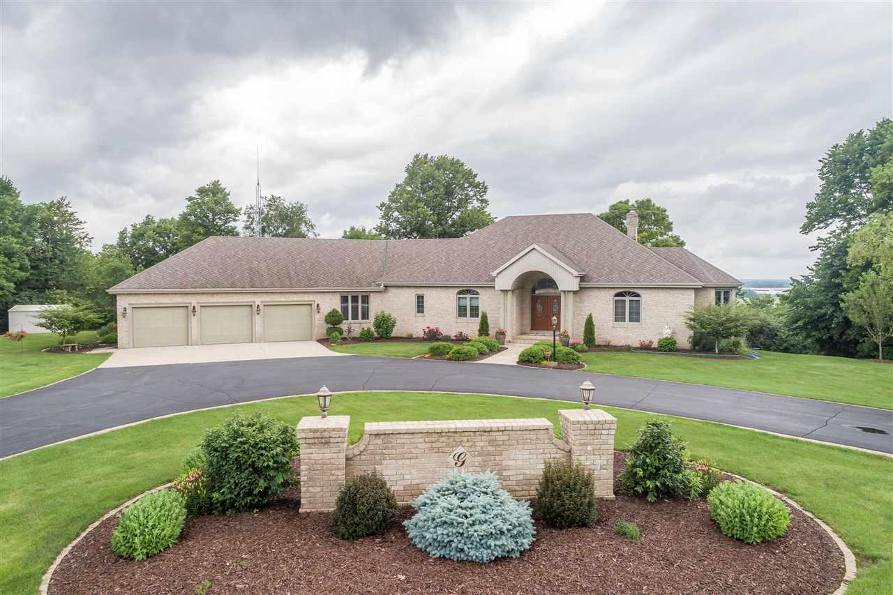 View Single-Family Home For Sale at 7610 ST PATS CHURCH ROAD, Greenleaf, WI