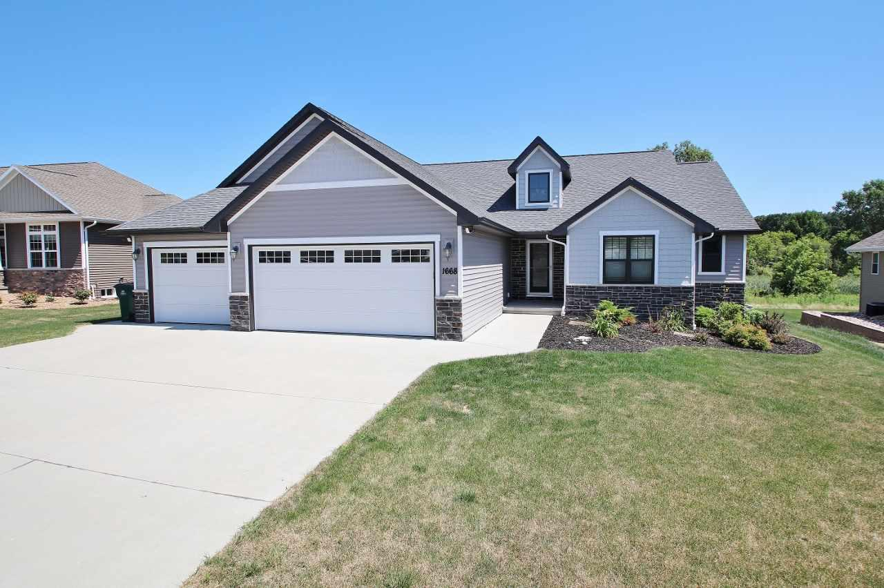View Single-Family Home For Sale at 1668 STEINER LANE, Green Bay, WI