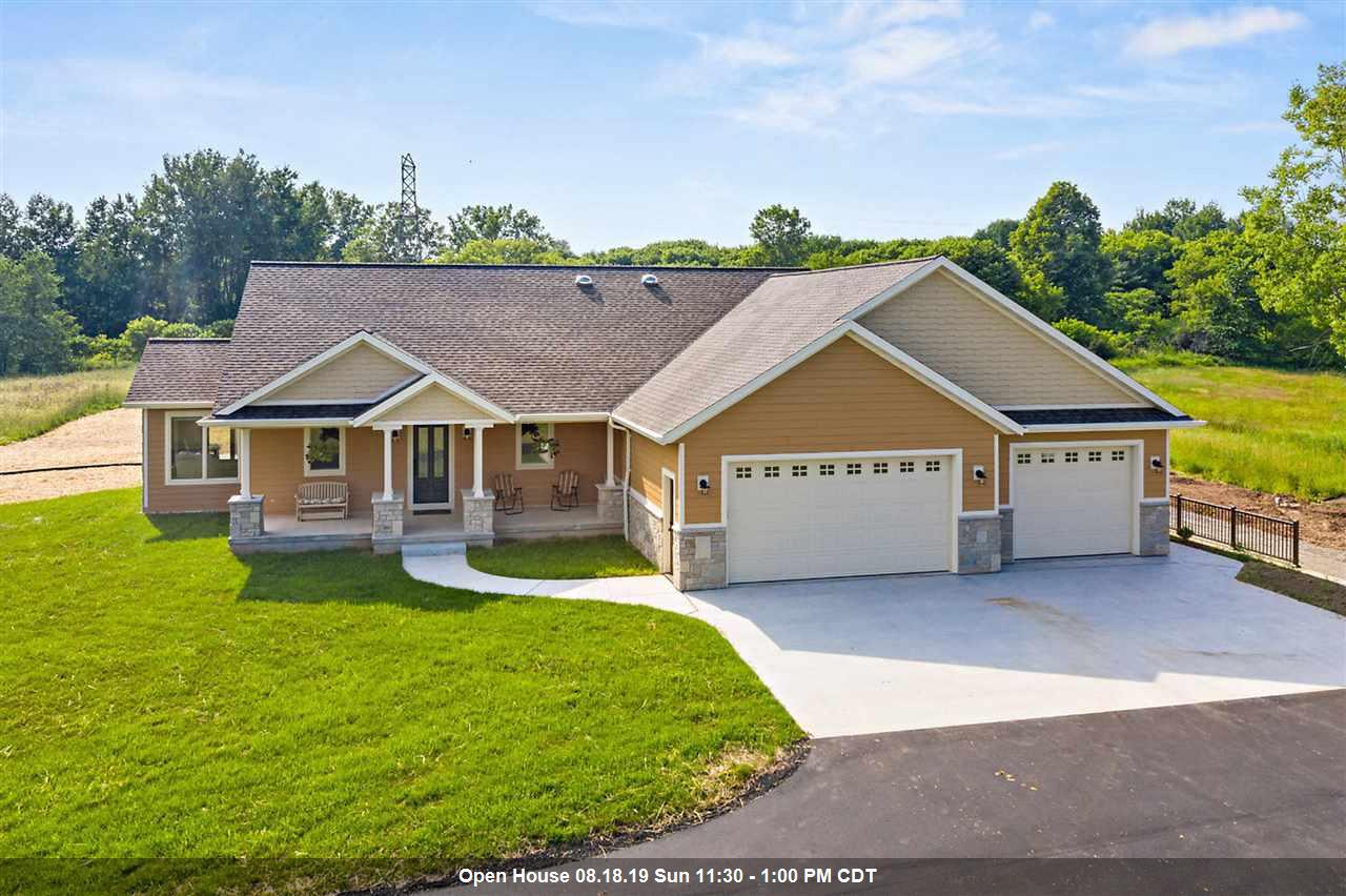 View Single-Family Home For Sale at 2350 WOOD LANE, Suamico, WI