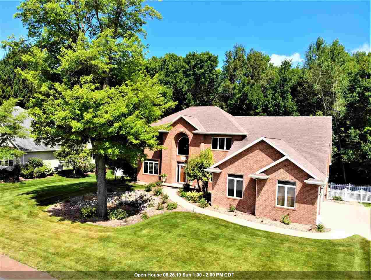View Single-Family Home For Sale at 1180 PLEASANT VALLEY DRIVE, Oneida, WI