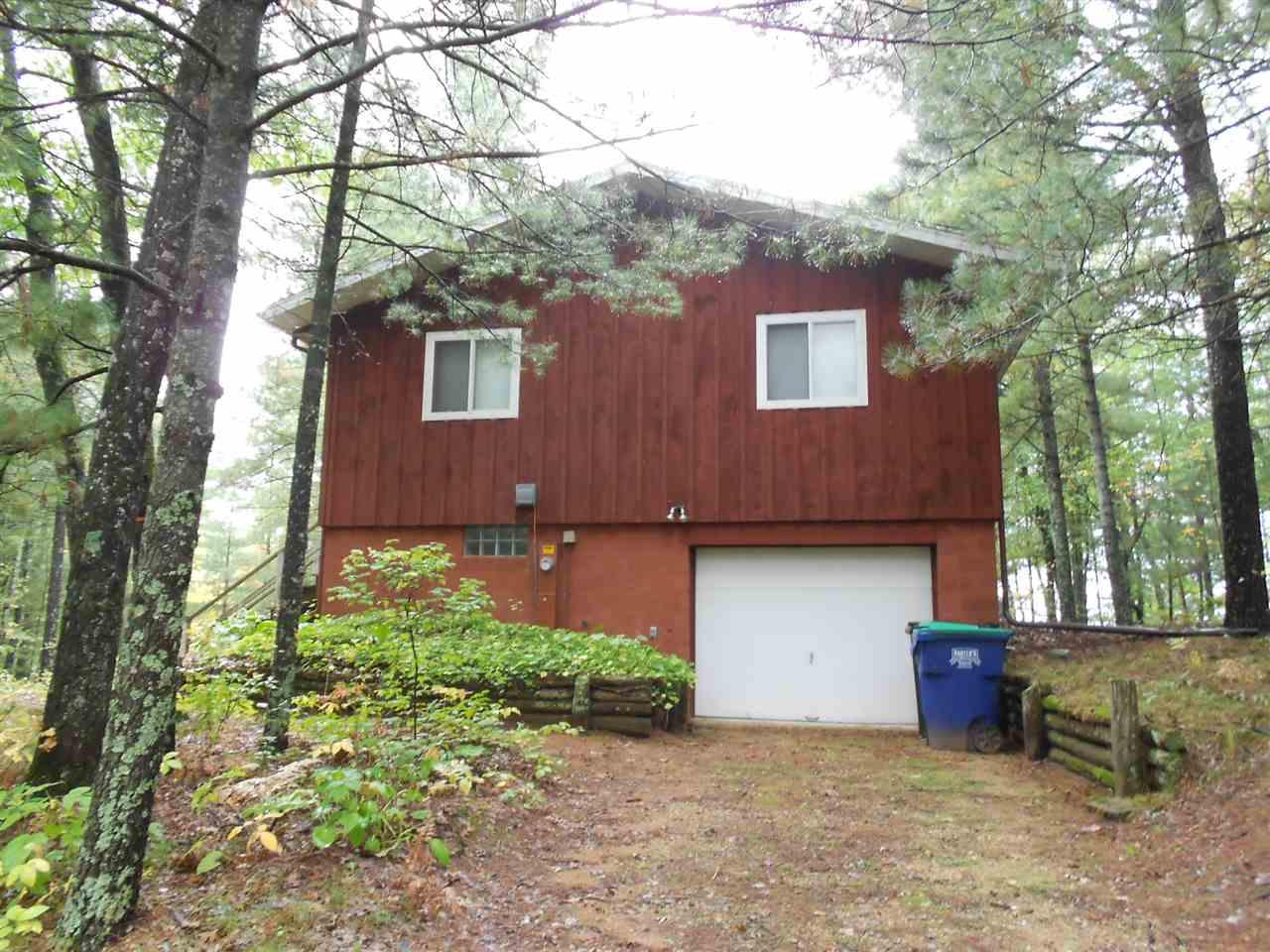 View Single-Family Home For Sale at W1035 SPIRIT ISLAND COURT, Keshena, WI