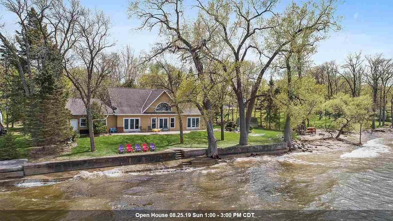 View Single-Family Home For Sale at 6121 SANDY COVE ROAD, Luxemburg, WI
