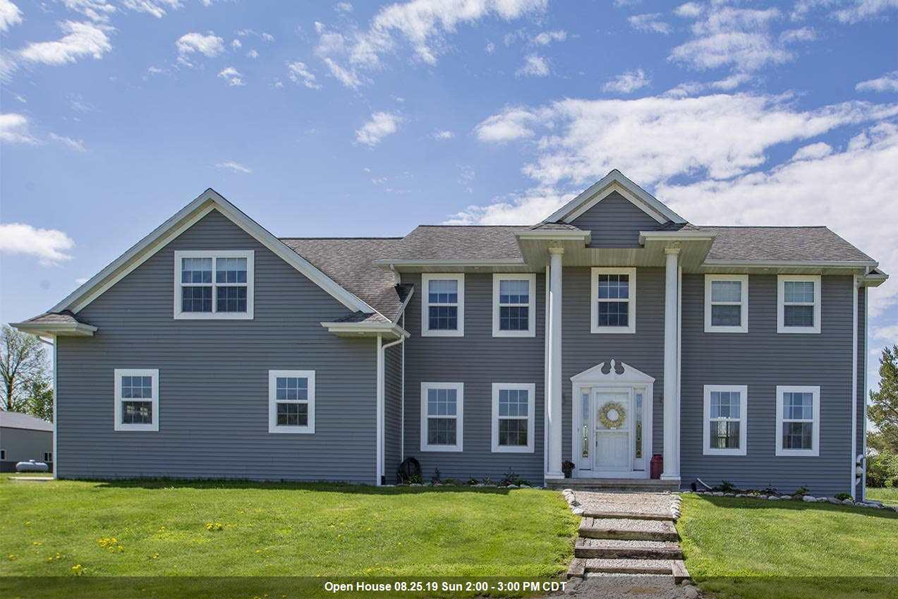 View Single-Family Home For Sale at E3201 TABORDON LANE, Casco, WI