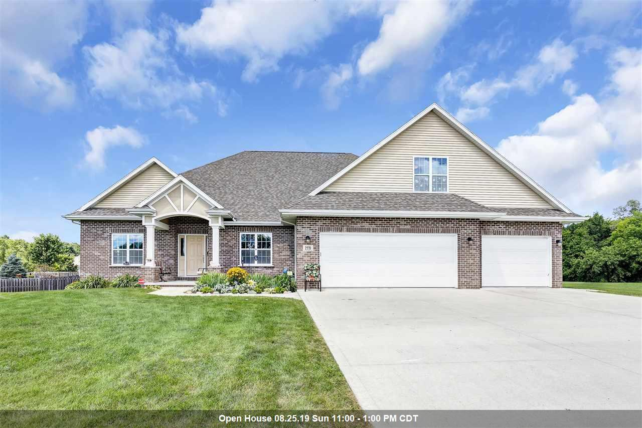 View Single-Family Home For Sale at 2531 CLEAR BROOK CIRCLE, Green Bay, WI