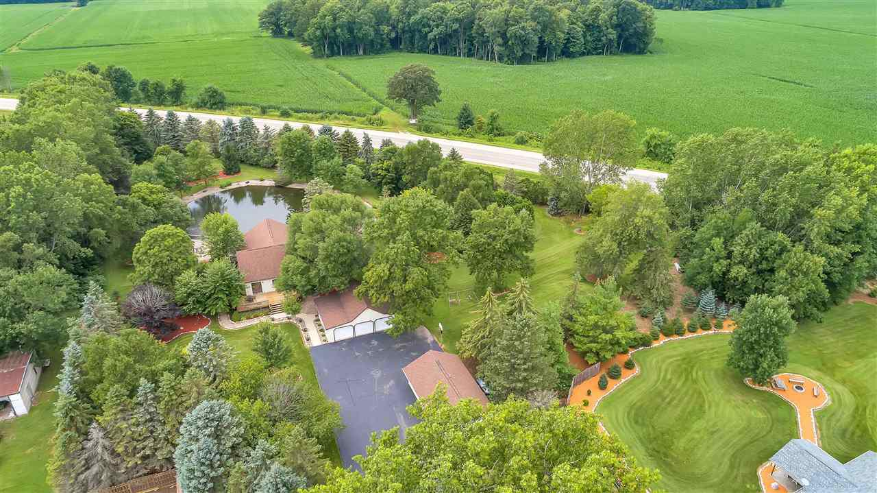 View Single-Family Home For Sale at W3908 ADOLPH ROAD, Black Creek, WI