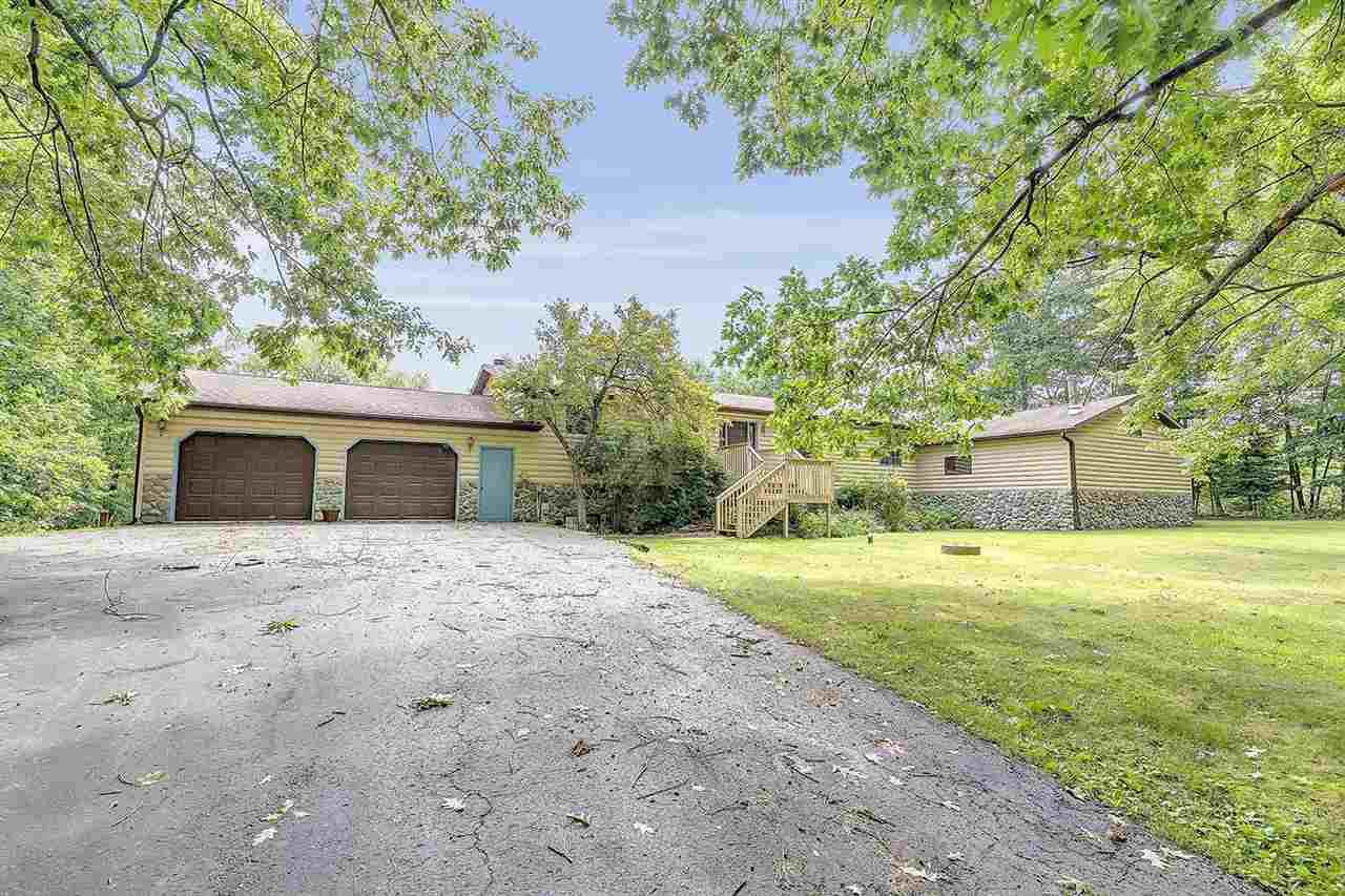 View Single-Family Home For Sale at W1724 RIVER OAKS DRIVE, Marinette, WI