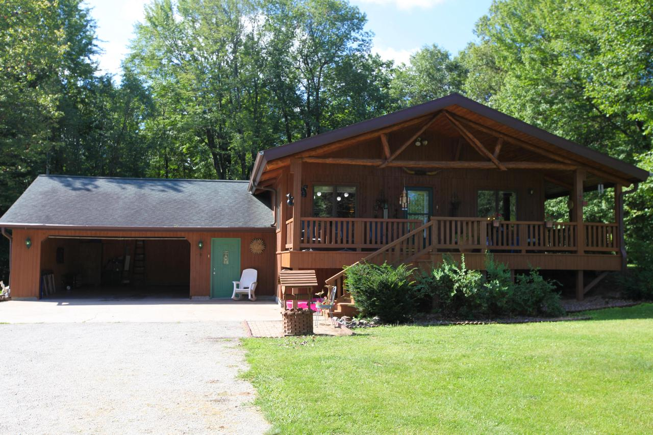 View Single-Family Home For Sale at W3355 HWY 64, Marinette, WI