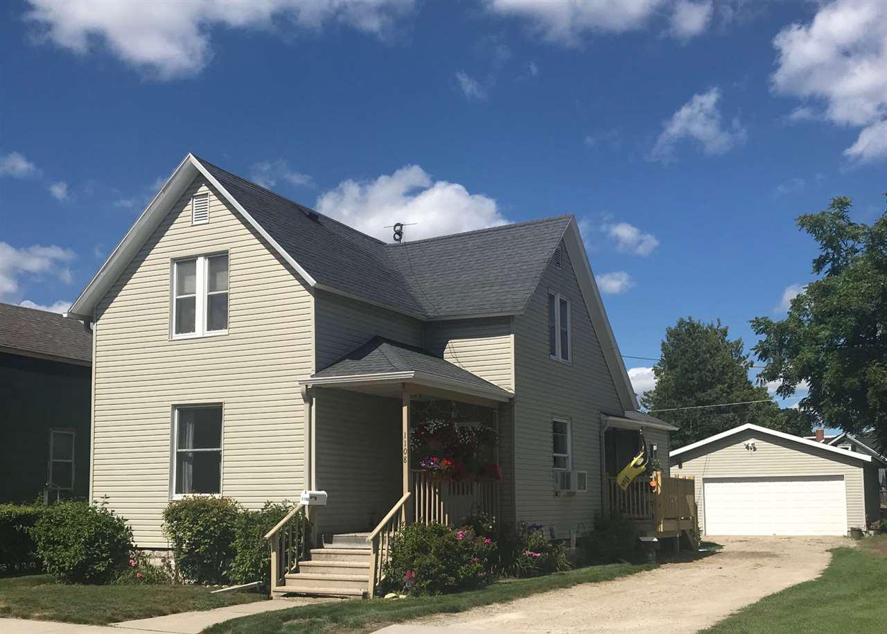 View Single-Family Home For Sale at 1108 LOGAN AVENUE, Marinette, WI