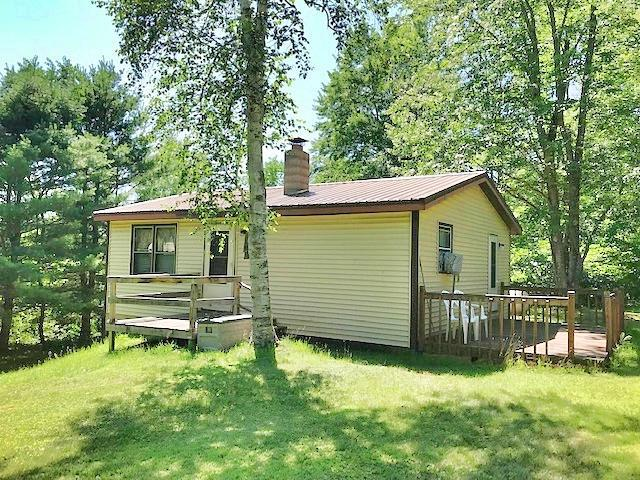 View Single-Family Home For Sale at N17255 Crowe Rd, Pembine, WI