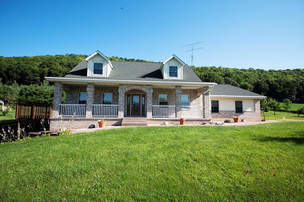 View Single-Family Home For Sale at E1201 State Road 72, Elmwood, WI