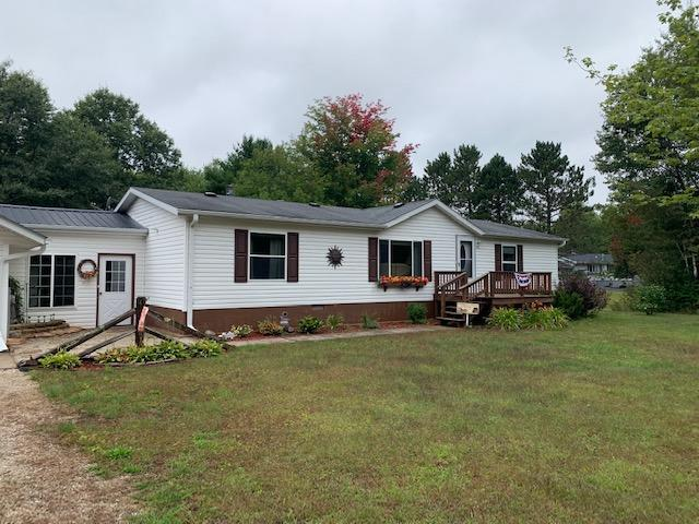 View Single-Family Home For Sale at N18569 Shrine Rd, Goodman, WI