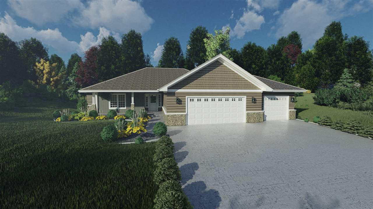 View Single-Family Home For Sale at 1250 VELSEN ROAD, Green Bay, WI