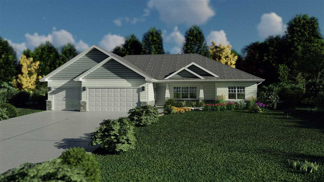 View Single-Family Home For Sale at 1264 CLEMENTINE ROAD, Green Bay, WI