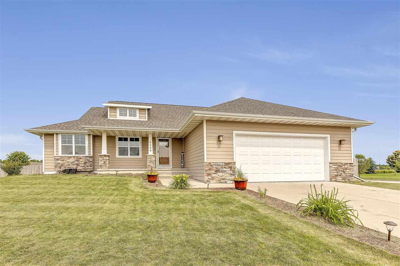 View Single-Family Home For Sale at 4249 GAIBRELLES GATE, Green Bay, WI