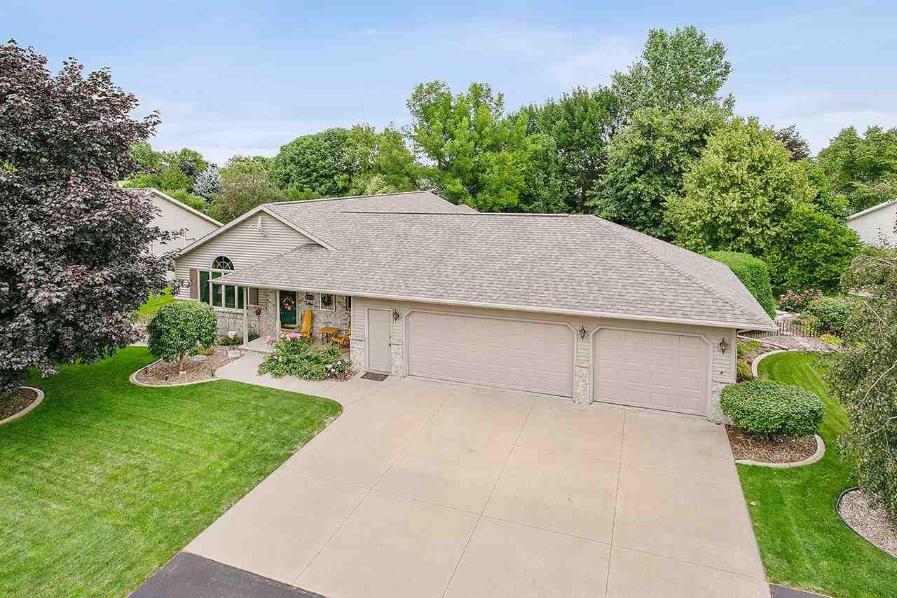 View Single-Family Home For Sale at W3054 JUST ABOUT LANE, Appleton, WI
