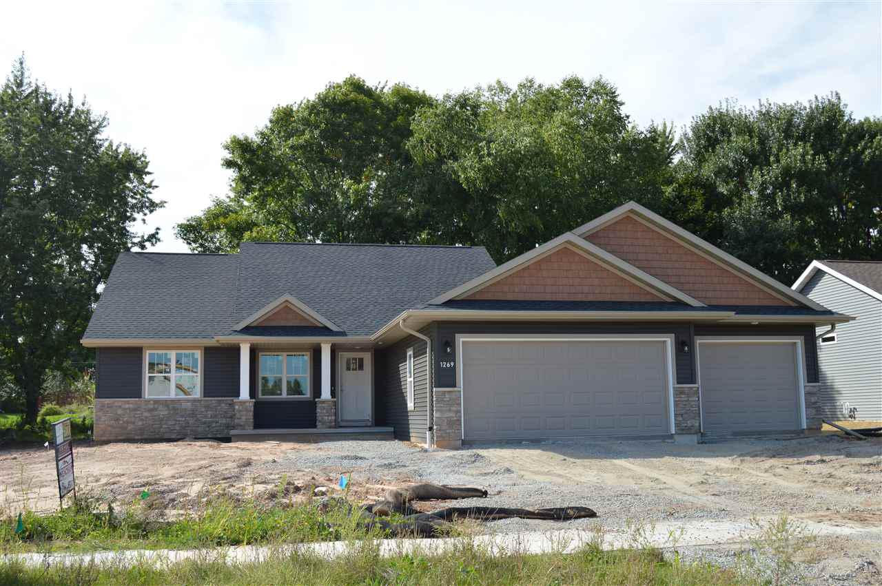 View Single-Family Home For Sale at 1269 CLEMENTINE ROAD, Green Bay, WI