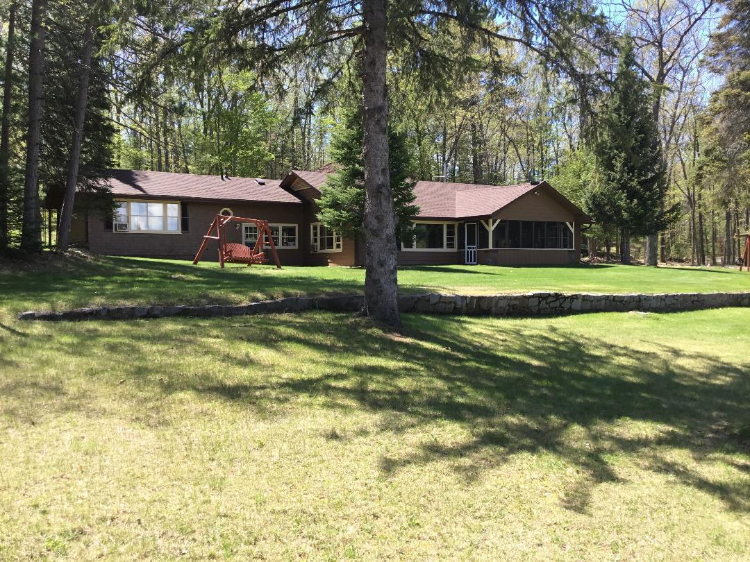 View Single-Family Home For Sale at W7160 Island Lake Rd, Wausaukee, WI