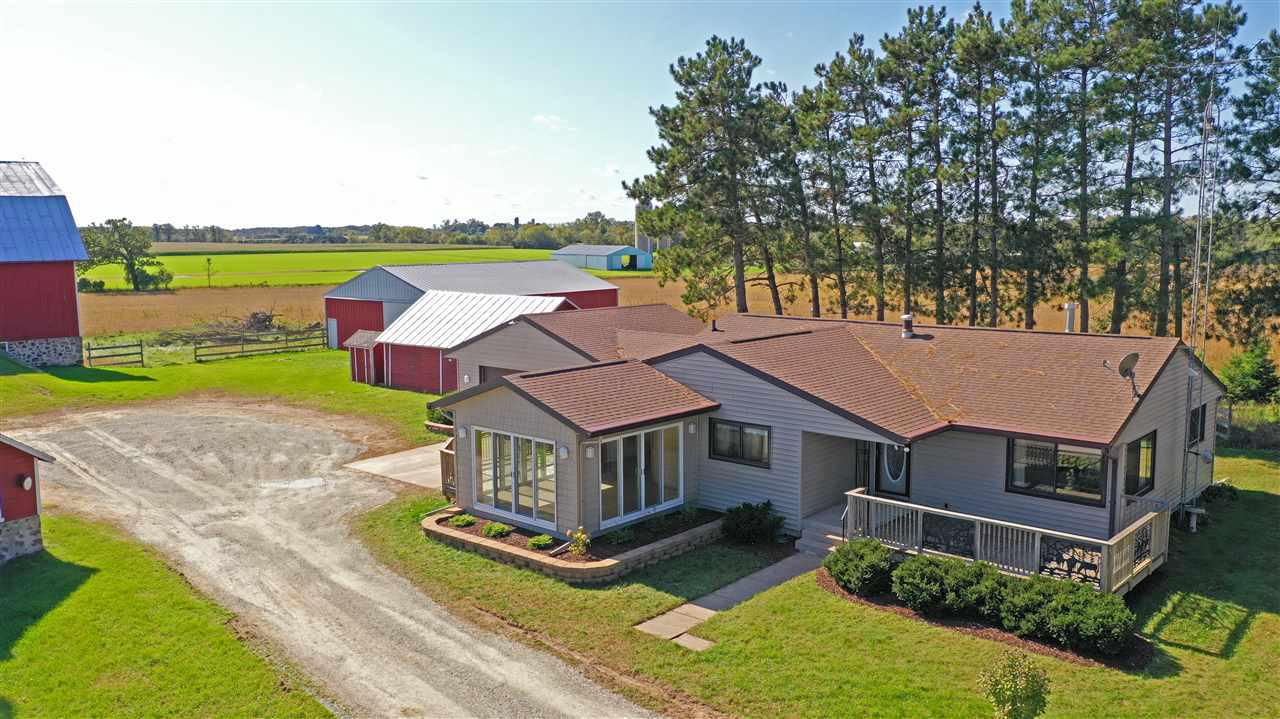 View Single-Family Home For Sale at E4859 HWY 10-49, Weyauwega, WI