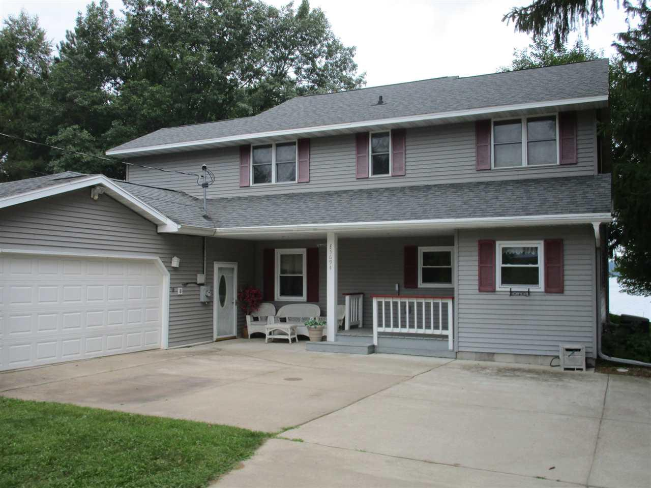 View Single-Family Home For Sale at E5694 WAUKAUNAKA STREET, Weyauwega, WI