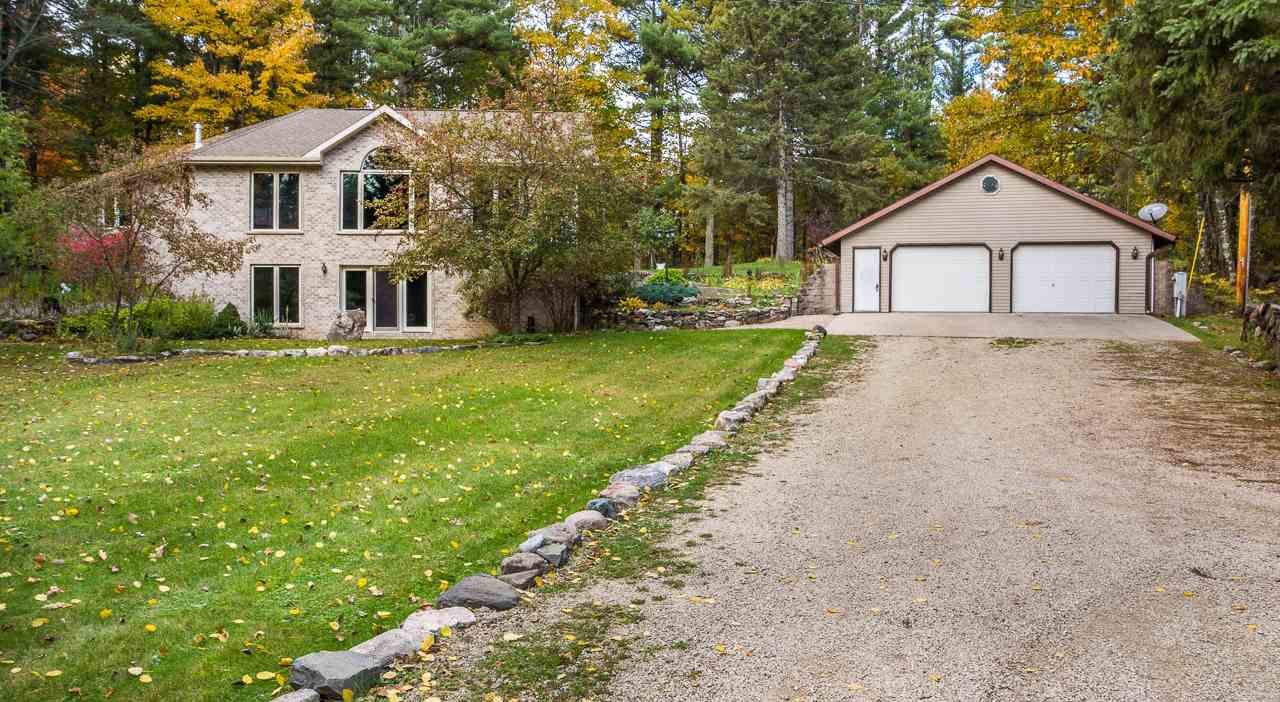 View Single-Family Home For Sale at W8698 LUNDGREN LAKE ROAD, Pembine, WI