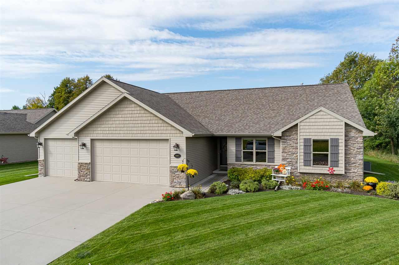 View Single-Family Home For Sale at N1097 SUMMER BREEZE LANE, Greenville, WI