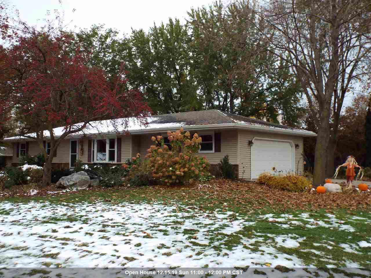 View Single-Family Home For Sale at 5779 ST IVES ROAD, Oshkosh, WI