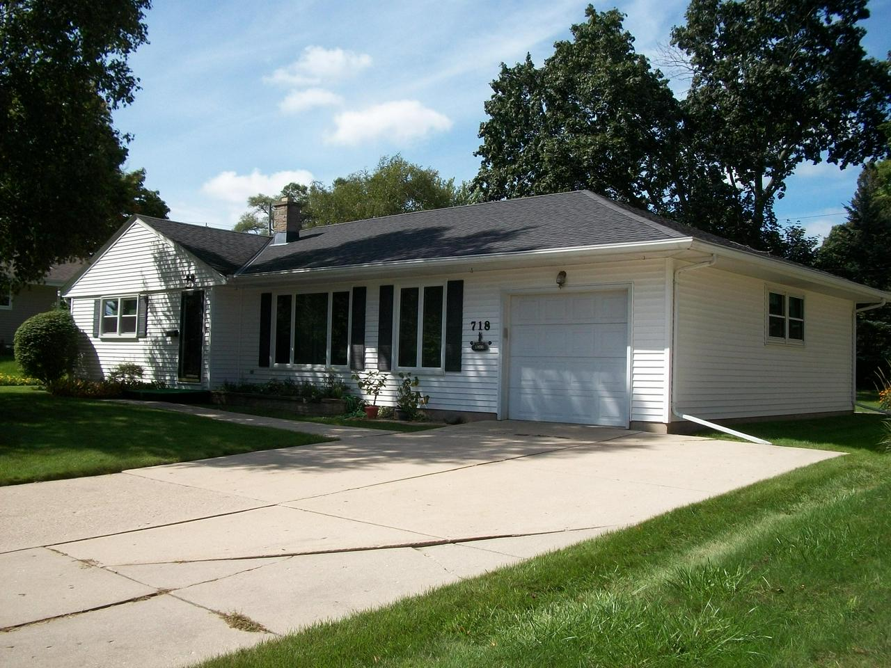 Very nice, one owner ranch home, with great curb appeal, in West Bend location! All the major items have been updated in the last 4 years, such as, roof, gutters, windows, furnace and doors. Very spacious rooms. The backyard is a nice size, features a concrete patio and affords you some privacy. Includes all appliances too! To see is to buy!!