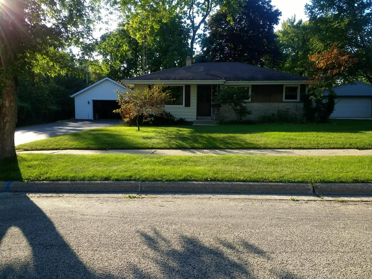Come see this lovely 3 bedroom, 1 bath ranch home. The home features updated windows, entry doors, furnace, water softener (owned) and water heater. The garage is an extra large 2.5 car garage with a work area and additional space in the loft above.