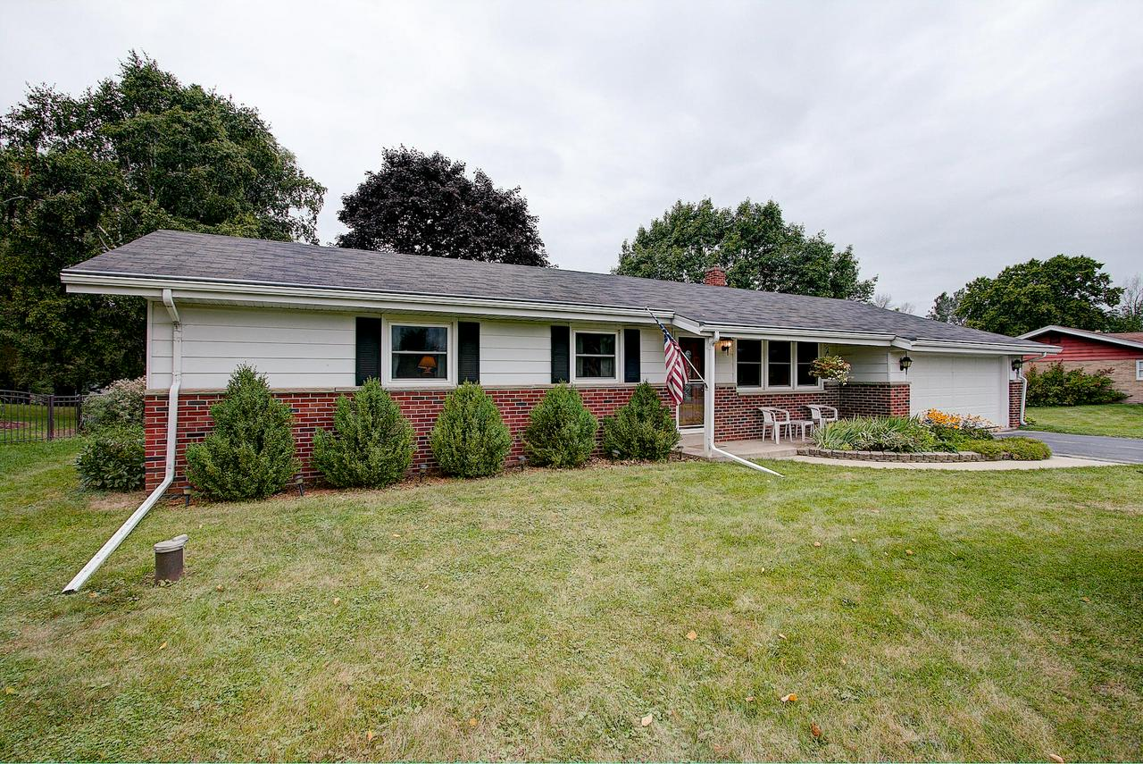 This spacious 3 bed, 1.5 bath home sits on a nice .4 acre lot in a quiet subdivision and after 49 years is looking for a new family! Updated kitchen and baths, newer windows, newer furnace, newer A/C, newer Gas Fireplace, and newer Garage door and opener helps make this an easy transition! Imagine the Packer parties you can host in the large and bright living rooms! Just minutes from what all of Grafton offers, and only a couple miles from I-43 make the location absolutely perfect. Why are you still reading...Set your appointment now!