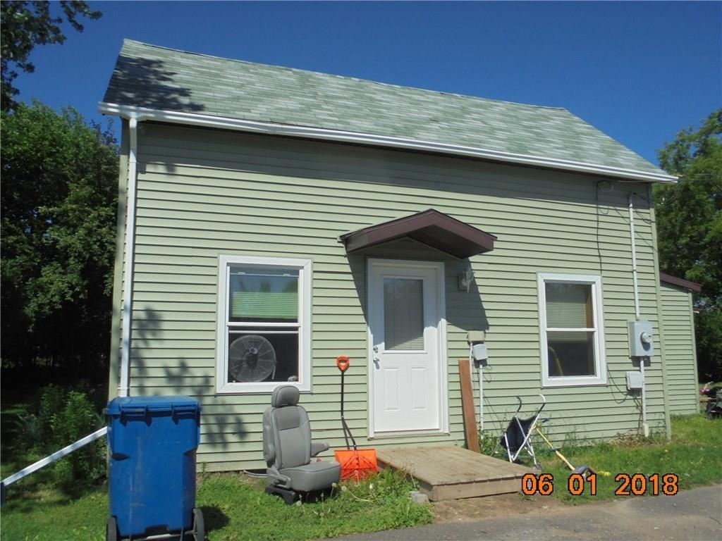 Affordable home on the edge of the city limits.  New siding & windows in 2017, brand new central air unit in July 2018.  Home is in updated condition.  Large, unusual lot size.