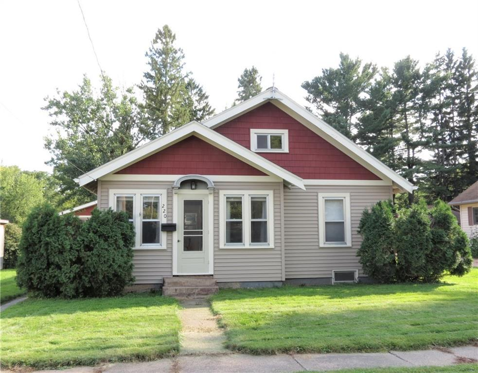Nice two  bedroom home w/ sitting room, 2 car dettached two car garage. Nicely wooded large lot with creek. New siding 2007; New roof 2006; Rain gutters installed 2008; Remodeled bathroom 2009; Remodeled kitchen 2018; Hardwood floors have been refinished. Nice location to downtown area including schools, shopping and the courthouse. Sitting room could be a a bedroom also.