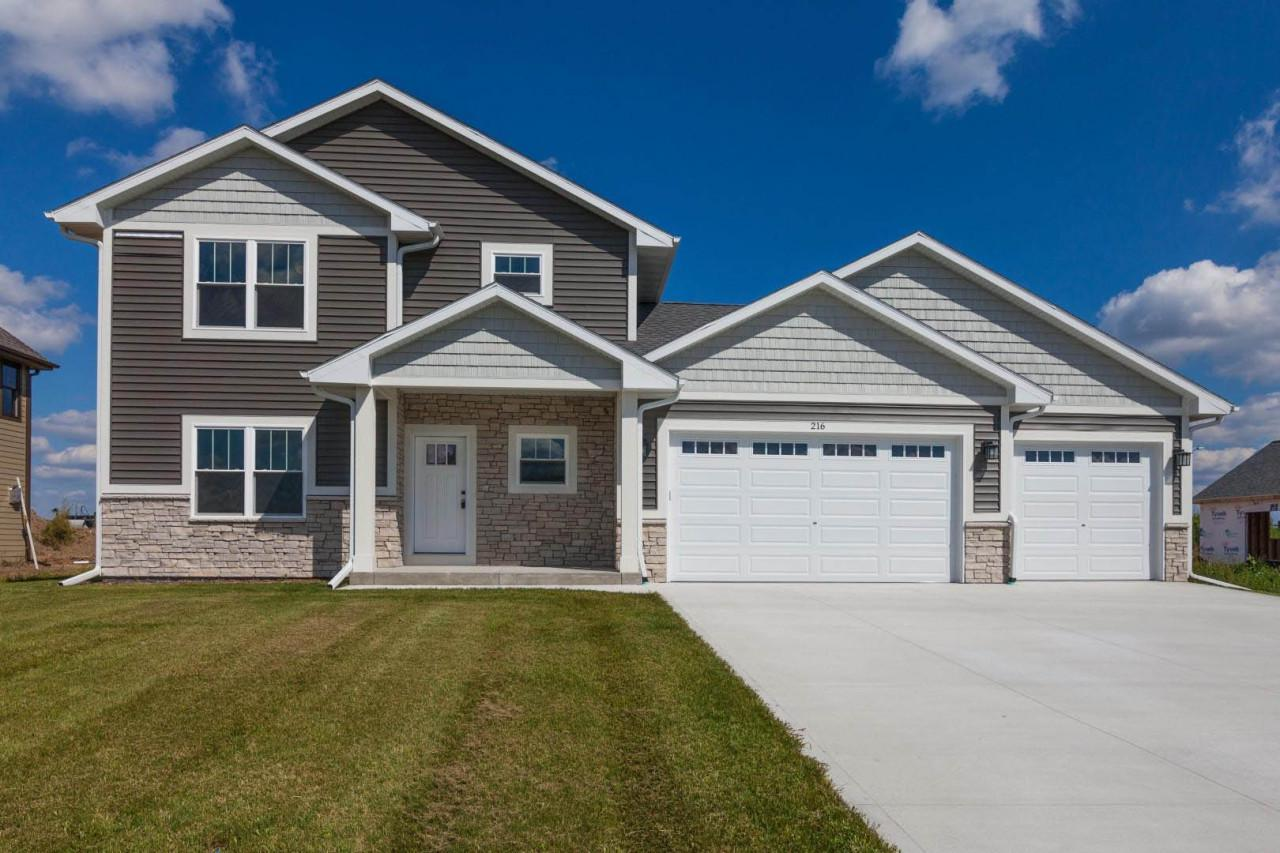NEW CONSTRUCTION HOME !  Stunning and quality built  3 bd, 2.5 bath located in the  Slinger School District.  Step into this spacious open concept home. First Floor: Sunfilled living room w/ cozy gas fireplace; Dining area for kitchen table; Patio Doors leading to large backyard;  Kitchen boast granite tops, breakfast bar, tons of cabinet space,and pantry; Mudroom area, half bath and Office/Den. Second Floor: Wonderful Master Bedroom w/ large walk-in closet and full Master Bath;  Laundry Room and Two Bedrooms with Another Full Bathroom.  ---  Driveway, walkway and yard already in!  Close to downtown Slinger and not too far from highway for easy access.