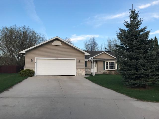 Located on a quiet cul-de-sac, walking distance to park and schools. Open concept kitchen, dining & living rm with vaulted ceilings & patio drs that lead to a  large composite deck and private backyard.  Master bedroom & private bath with walk in shower,  WIC and dual sinks. Main floor laundry,  . Large egress windows in the basement could be finished  into additional bedrooms.   all appliances incld.