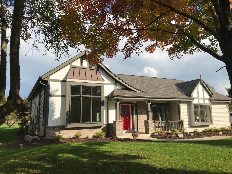 Private retreat, minutes from Cedarburg. 2018 new mechanicals, appliances, range hood. Ready for you. 4.2 acres.  2 car attached garage is finished, insulated, has exhaust fan. 2 car detached garage too. Zoned HVAC 2 stage for main levels.