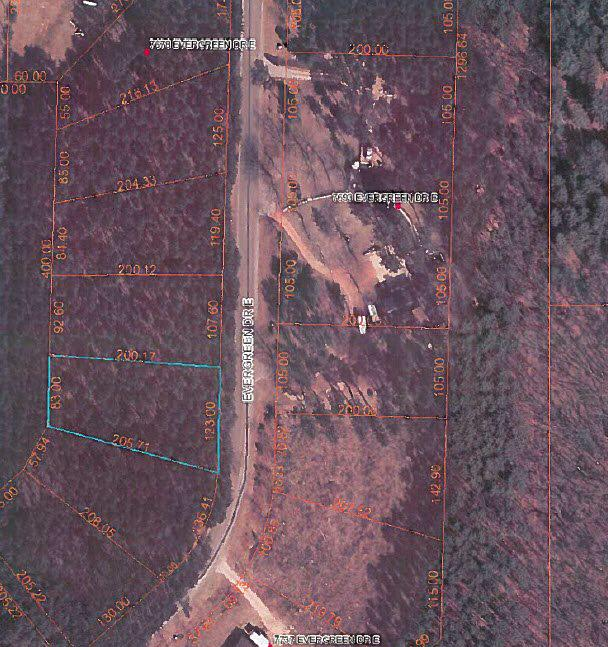 Perfect location for your new home! It doesn't get any more private and peaceful than the Evergreen Acres neighborhood! On the border of Waupaca and Portage Counties- you can hop on HWY 54 and be to Plover/Point in under 20 minutes.  *ALSO AVAILABLE- ALL 4 LOTS FOR $20,500* MLS # 50162852