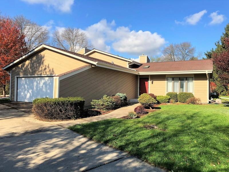 Beautiful Brookfield 3 bedroom/2.5 bath contemporary multi-level home! Newly Painted Exterior!   This spacious home offers a Large Updated Kitchen with Dinette,a Formal Dining Room, and Huge Family Room with Exposed Wood Beams, Wet Bar and Natural Fireplace!! Large Master suite attached with Full Bath. This breathtaking home rests in a quiet Cul De Sac, on over 1/2 acre of land! Simply walk out directly from the kitchen to attached Gorgeous Wood Deck or out to the Concrete Patio to enjoy the outdoors, while taking in the beautiful landscaping that surrounds the entire home! Lower level includes a finished bonus room that can be used as an extra Rec Room, Exercise Room, Game Room, Living Room, Etc!! $485 AHS Home Warranty Included!