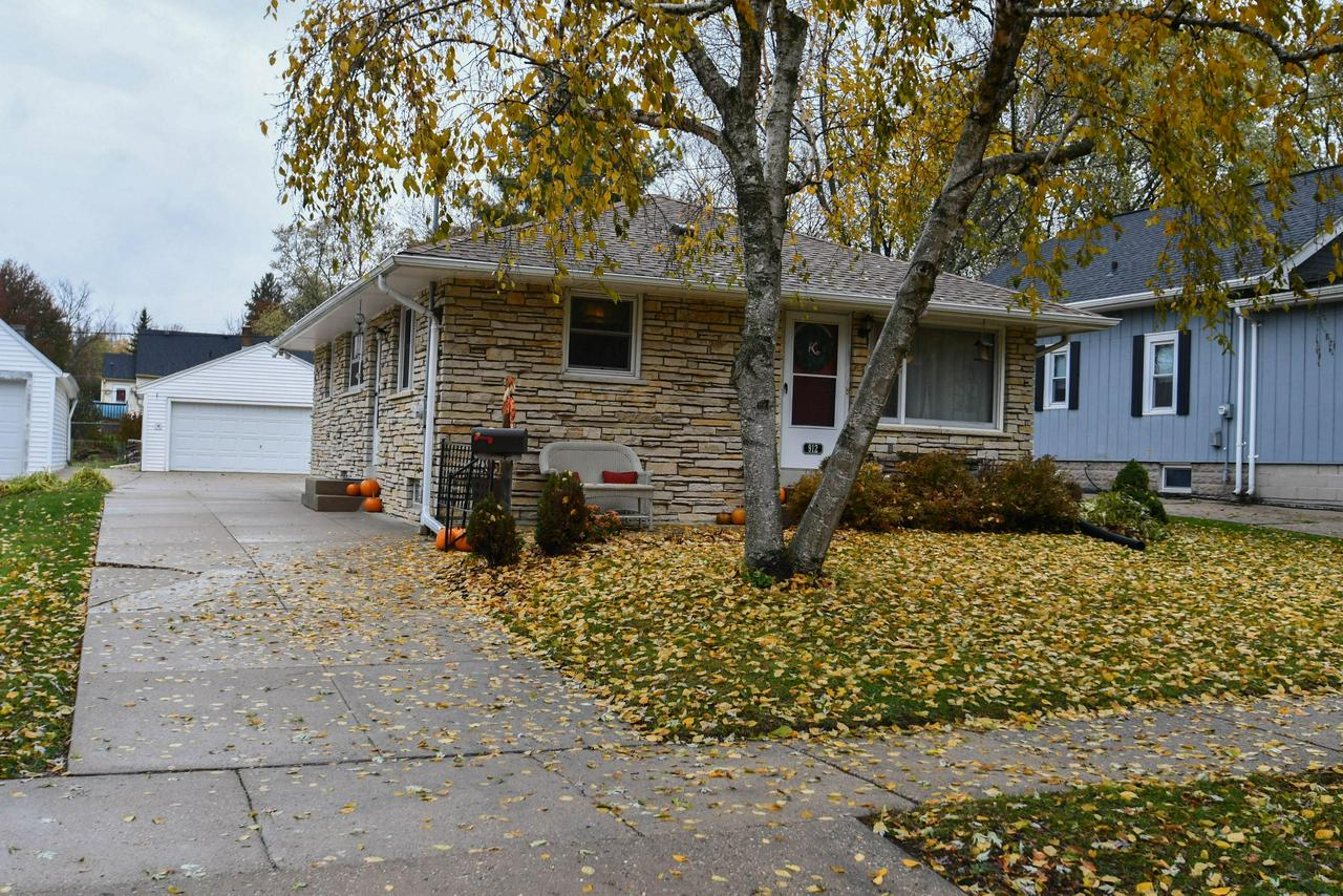 Super cute and well kept Lannon Stone Ranch in quiet area of Waukesha!  Large eat in kitchen leads to the living room w/HWF.  Three nice sized bedrooms w/HWF and full bath finish the main level.  Lower level has Industrial feel with carpeted area for extra entertaining room.  Large garage with lean-to storage shed behind for the extras! Updates are as follows: Refrigerator/stove '08, Dishwasher '11, Roof '08, Insulation '11, Water Heater '08, Water Softener '08, Sewer Line Cleaned '08, Furnace '11, A/C '15, Ducts Cleaned '08. Some Windows Replaced '12. Patio with semi-private yard for summer entertaining (patio set included).  The Gardener in you will love the raised garden bed!  Don't miss the opportunity to move right in and call this home! Close to schools, restaurants & parks!