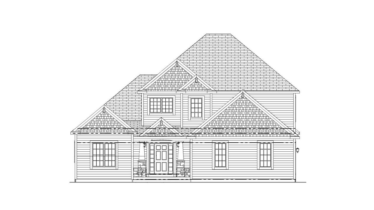 Ready in April of 2019.  This is your opportunity to buy the home of your dreams -- Halen Homes has taken out all of the guesswork with the design and color selections for you! First floor master bedroom design with 2-story great room ceilings.  Abundant wood flooring throughout main floor. Kitchen with over-sized pantry and solid surface countertops open to dinette and great room with fireplace and lots of windows for natural lighting. Master suite offers tub and custom ceramic tile and double-bowl sinks. Second floor offers 3 bedrooms and 2 full bathrooms one of which is a Jack-n-Jill style. 3-car sideload garage.  Lower level is half exposure awaiting your imagination for future finished space. Focus on Energy Certified.  Concrete driveway is included for you.