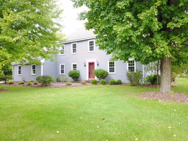 Tucked away on a picturesque private lot, this classic saltbox has everything you have been waiting for. Loads of updates including windows, siding, roof, gutters/leaf guards, insulation, A/C, furnaces, water heater, sump pumps. The interior has been freshly painted. Spacious formal living & dining rms w/ butlers pantry & access to ktch. Ktch has lg walk in pantry, double ovens & plenty of storage. Open concept family rm, beautiful fieldstone fireplace, access to patio & views of a private back yard. All bedrooms are lg in size w/ plenty of closet space. Baths have updated counters & fixtures. Master bed has access to huge bonus room w/ a separate staircase to mud rm. Partially finished LL, stubbed for bath. All of this in one of Brookfield's most desirable neighborhoods, Camelot Meadows.
