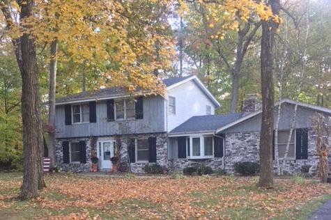 For informational purposes this is a one party listing4 BR, 2 BA on wooded lot. Part of desirable Arrowhead school district
