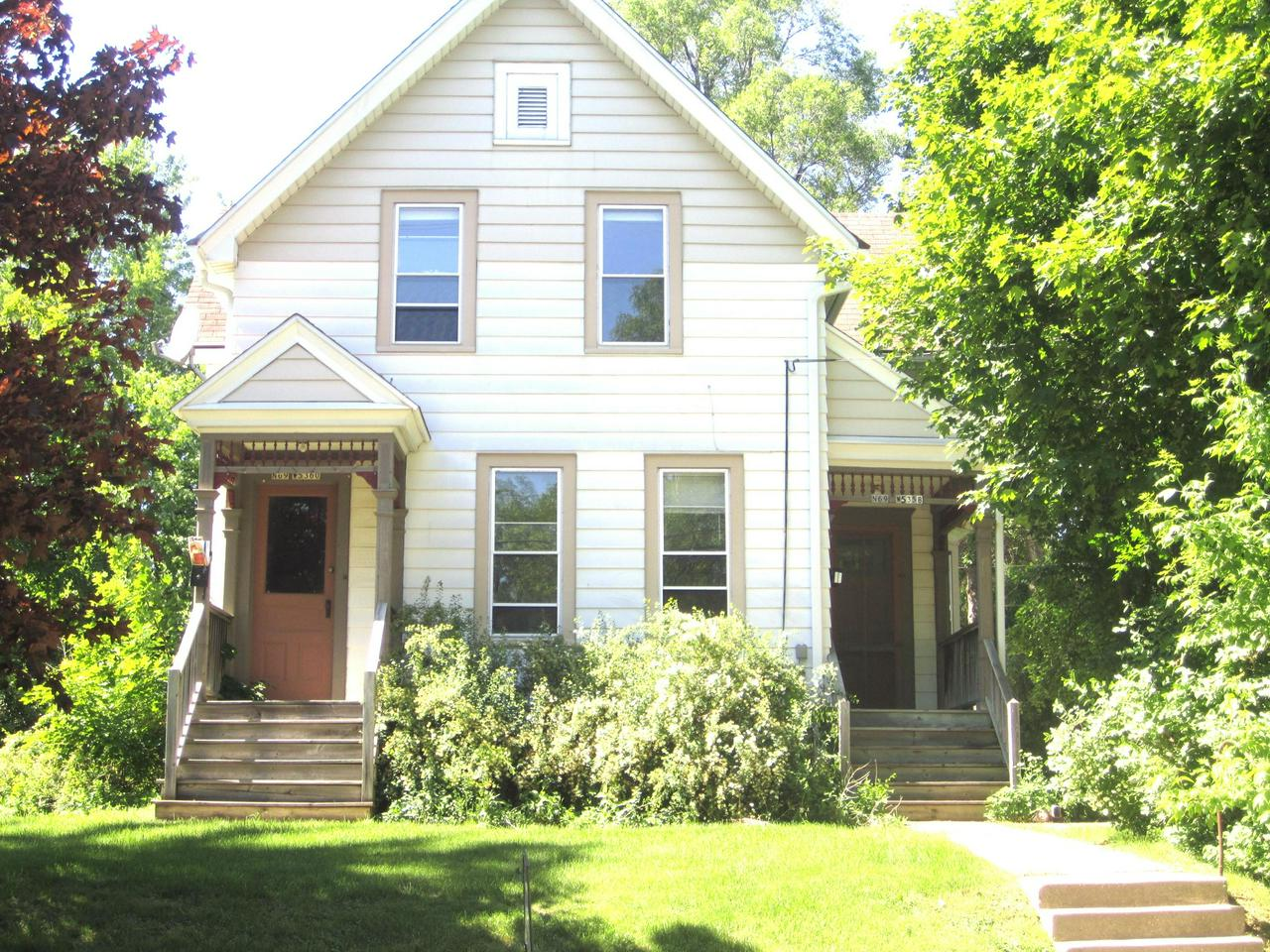 Victorian home with yesteryears style, pocket doors,  lots of charm , stained glass window, Bayed window, hardwood floors,  3 open porches, You cannot duplicate ones like this anymore.. currently used as a duplexeasily converted back to a single familyBroker owned property there are two tax bills for this propertycompletely new roof in oct 2018