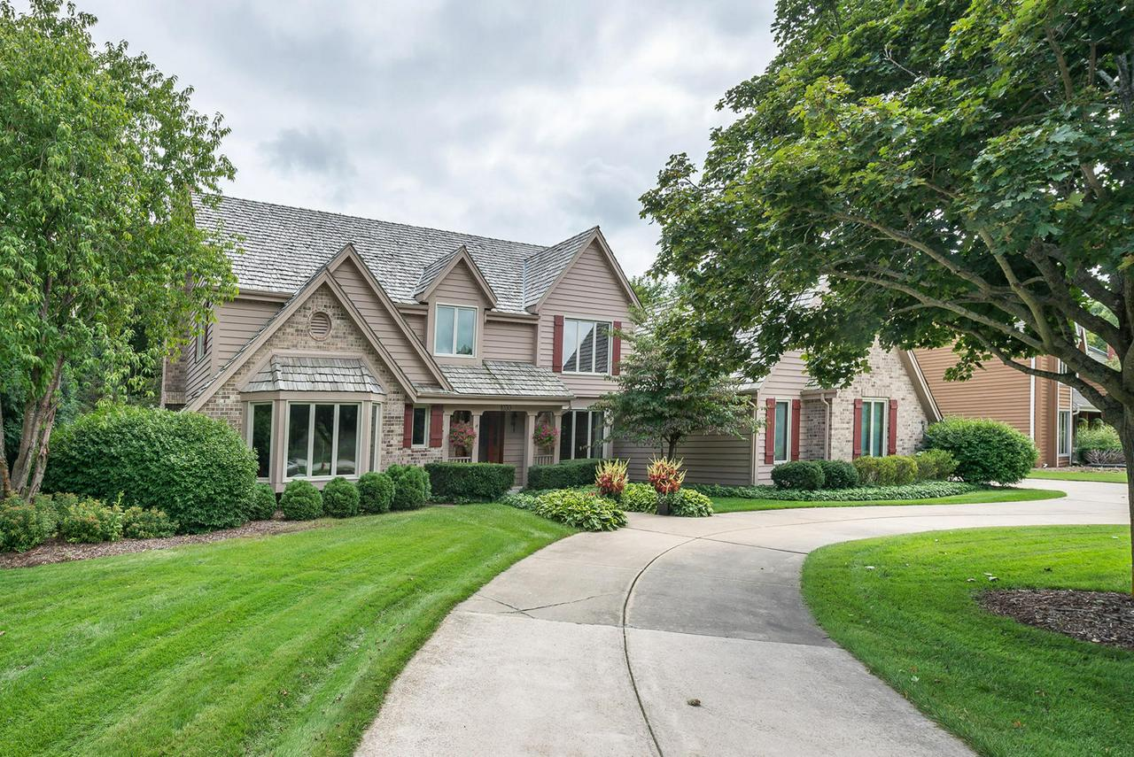 Regency Built 5BR,3BA in Weston Hills. Updated Kitchen with granite, SS appl, lg island & patio door to Southern exposure composite deck overlooking tree lined private backyard. Lg family room w/Brick NFP,raised hearth/custom mantle & lg windows for scenic views. French drs lead to LR w/bay window. formal DR w/coufered ceiling. Thick crown mouldings in FR,LR,DR, upper hallway. 1st flr den/BR w/vaulted clg. Full BA on main w/granite CT, SS. 2-Sty foyer w/custom turned ballisters. Large Master Suite w/vaulted clg, 2 lg closets, attached Bath w/double sinks, SS & jetted tub. All Bedrooms are spacious. 2nd bath features separate vanities & SOT. NEW WINDOWS THRU OUT. Newer furnace & CA. Central Vac. 3-Car drywalled GA. Sprinkler System. Circular Drive. Home Warranty. Walk to Weston Hills Park.