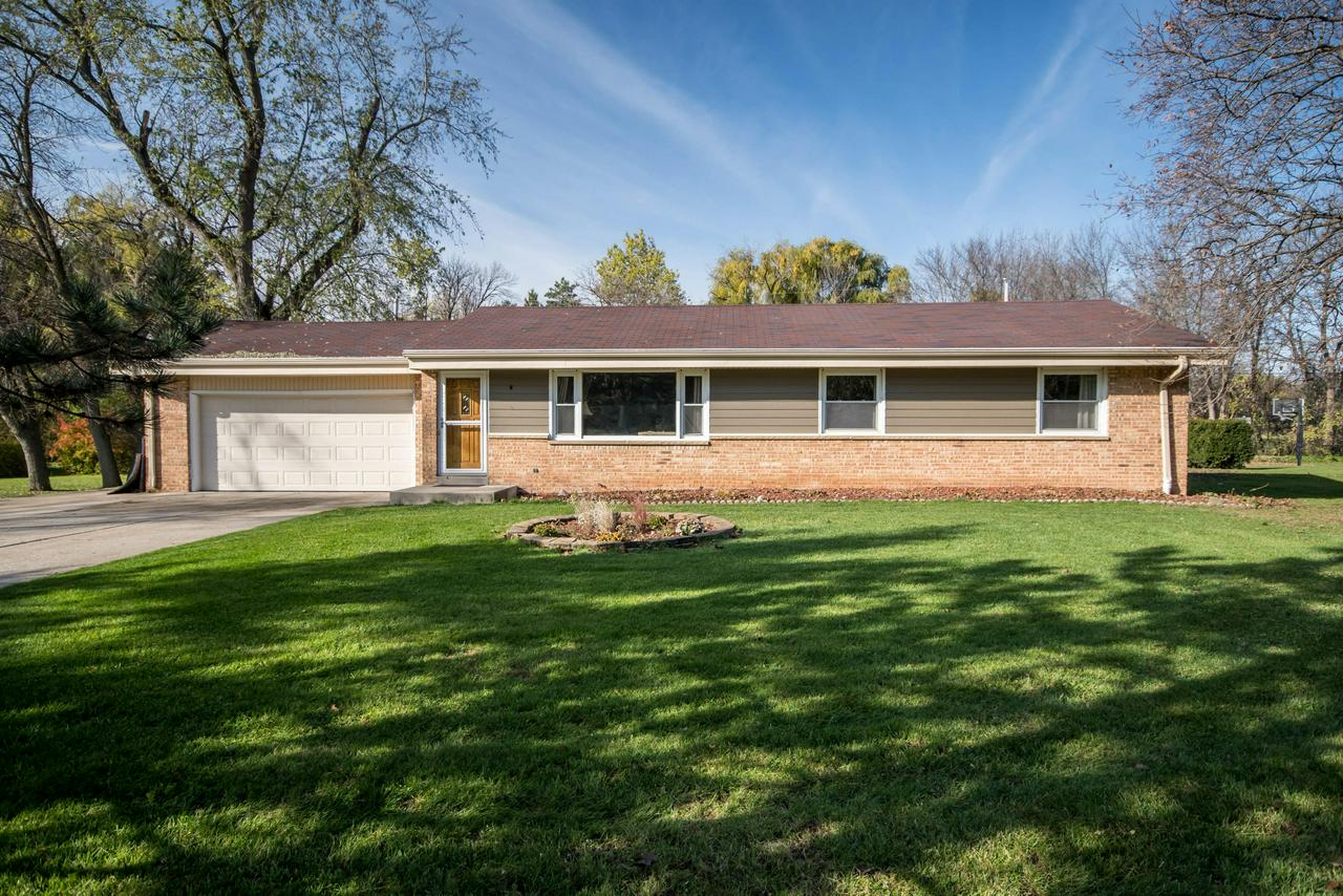 Beautifully updated ranch in a great location and amazing school district. Conveniently located just minutes between both Mayfair and Brookfield Square malls and only 20 minutes from Downtown Milwaukee. The professional design is clear in this freshly remodeled kitchen that highlights new Quartz Silestone counters, beautiful backsplash, and functional lighting scheme. Gorgeous real hardwood floors throughout the entire home. Full bath and roof redone in the last 7 years. Outdoor living space is a big draw with this huge deck that features built in benches, natural privacy, and gorgeous hardscaped retaining wall that accent this beautiful backyard. Perfect for entertaining!