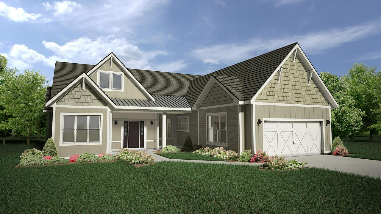 This home is yet to be built.  New ranch-style, lifestyle homes just north of the beautiful City of Cedarburg, nestled against Cedar Creek.  These homes will be single family, with a clubhouse and pool and condominium services!  Yes, the HOA will take care of the snow removal, lawn and plant bed care, the clubhouse and the pool.  Come enjoy the good life!