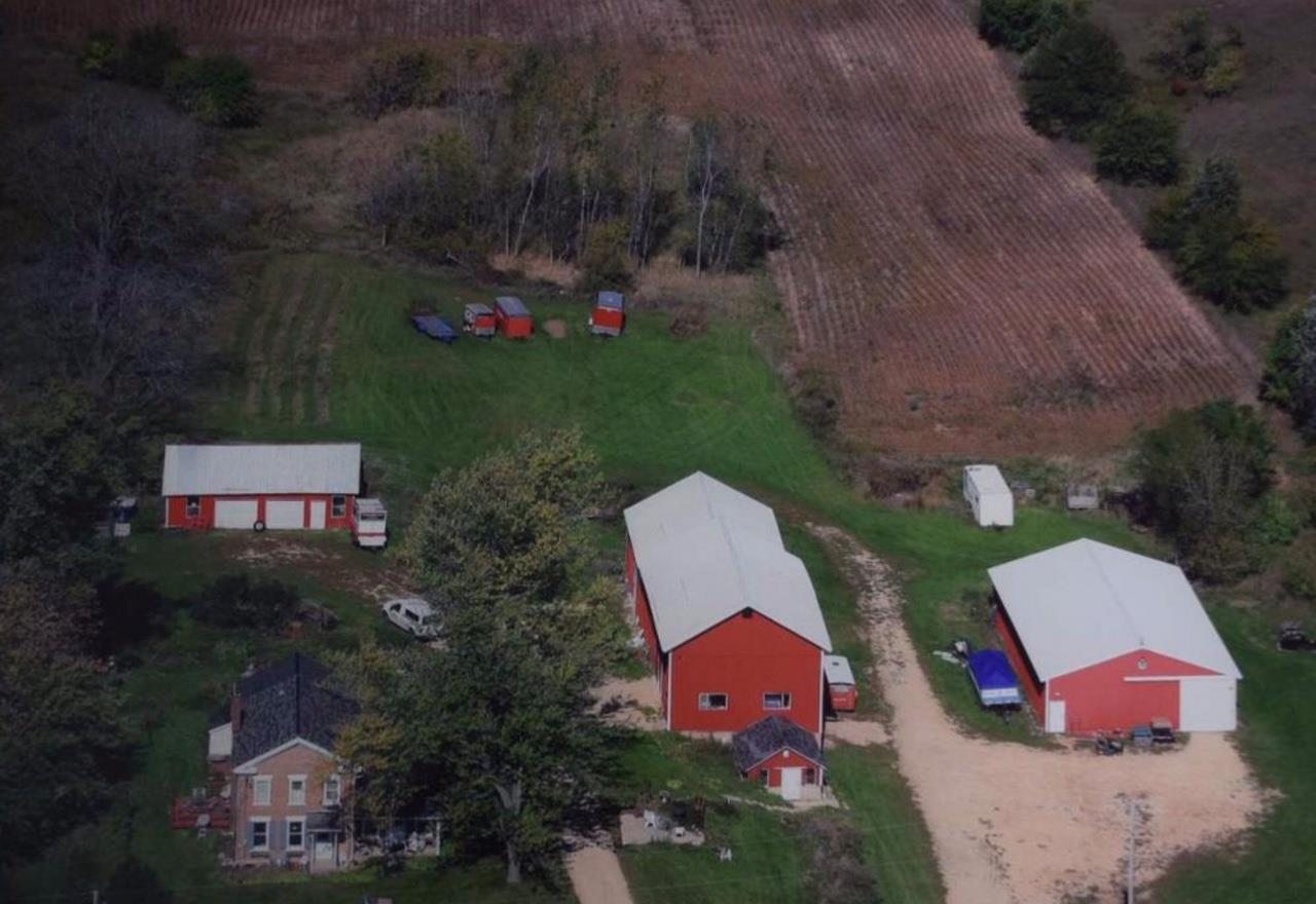 MRP $450,000-$500,000. Numerous possibilities for this 9.48 acre farmstead bordering the Village of Brooklyn. Owner occupy or lease out the 3 Bdrm, 2.5 Bath home with barn & 2 outbuildings along with almost 6 tillable acres. Large main barn offers tons of storage, 40x70 machine shed features concrete floor, 12' doors on both ends. New septic system. A-2 zoning offers a number of Conditional Use options. Investment opportunities for potential lot development as the Village looks to expand. Easy commute to Madison. Oregon School District.